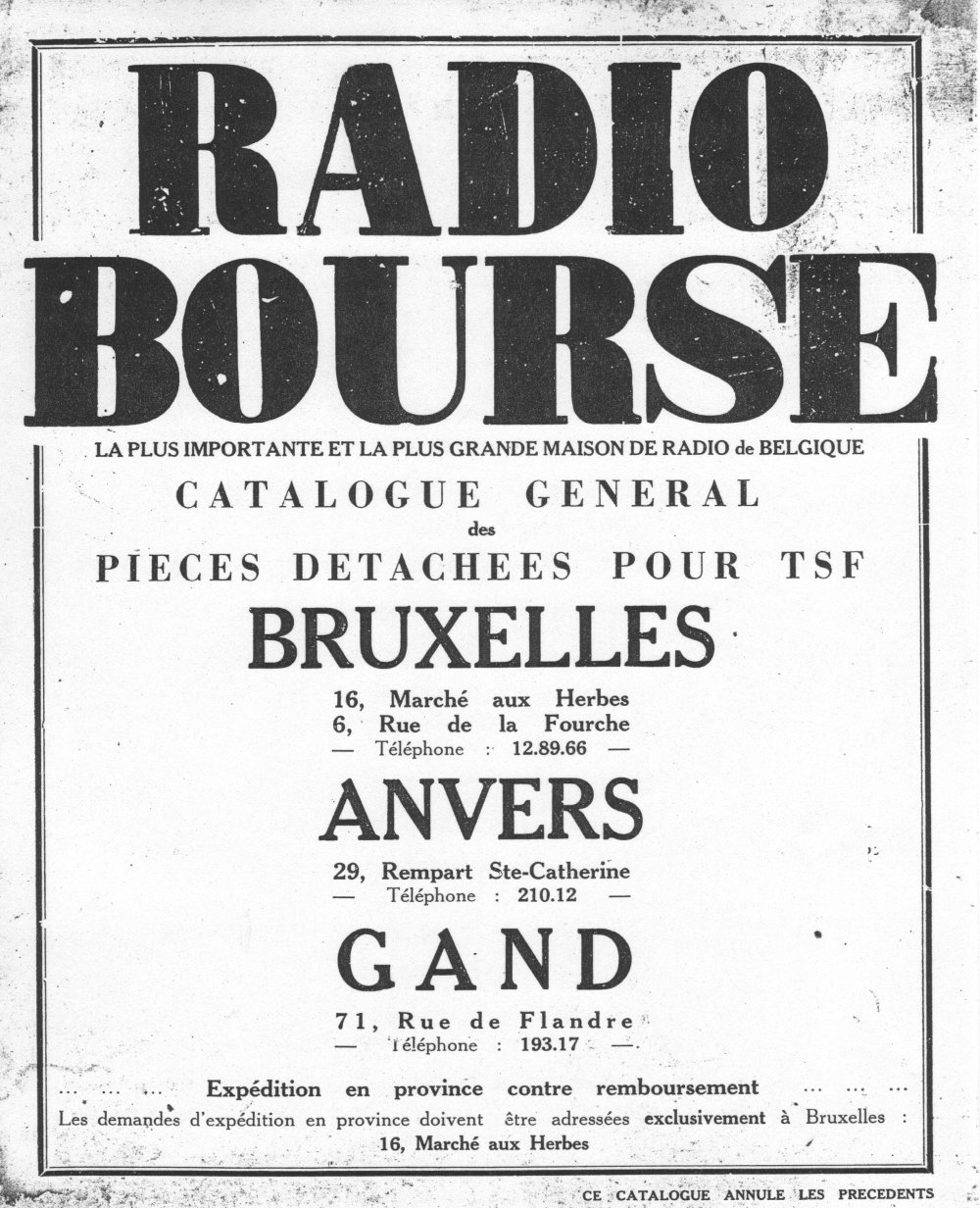 Radiocollection.be : catalogue Rexola 1932